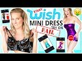 MINI DRESS TRY ON | 9 Kinky Styles From WISH.COM