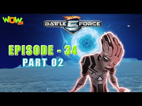 Motu Patlu presents Hot Wheels Battle Force 5 - Found and Lost - S2 E34.P2 - in Hindi