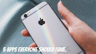 5 Fun Apps You Should Download! ❥