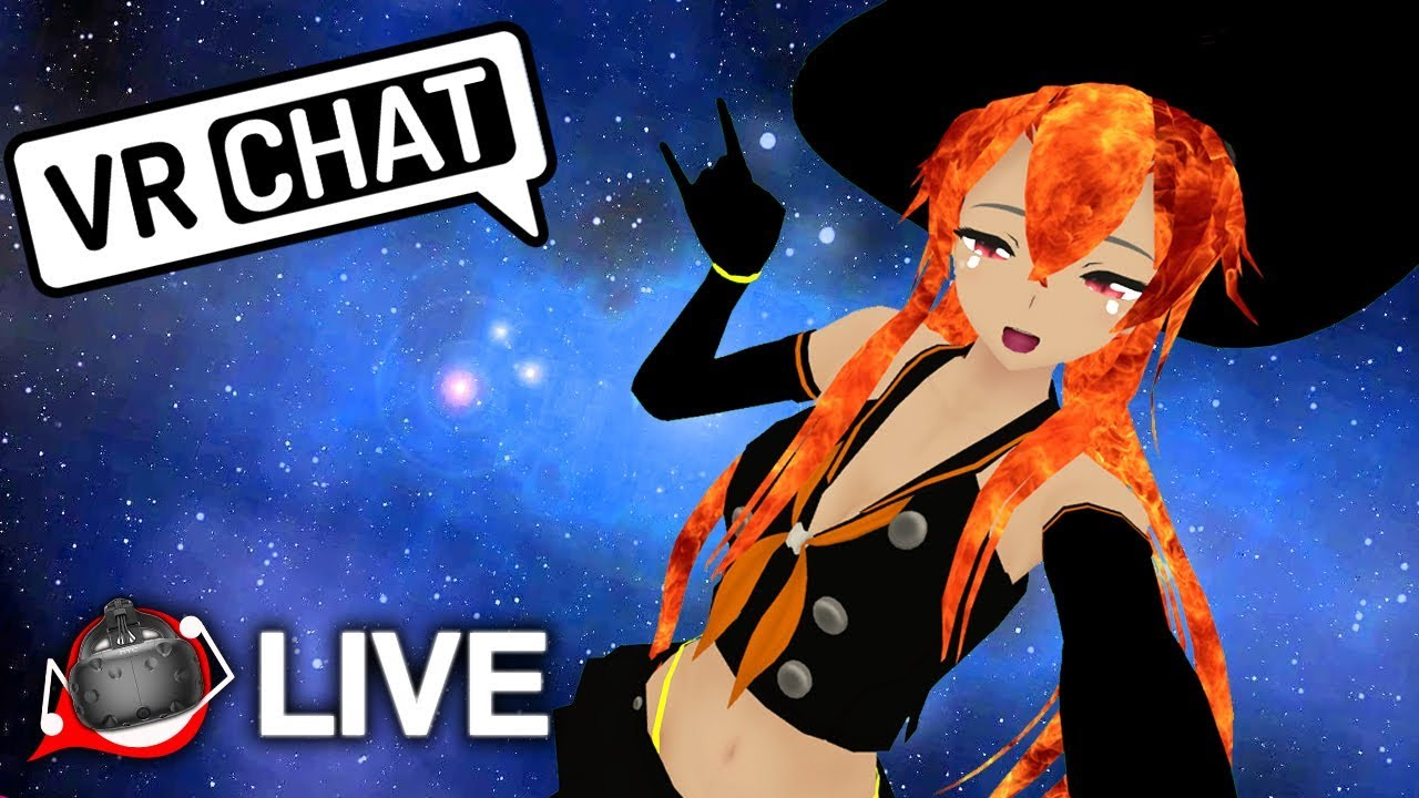 Hot Halloween Hip Rolls! - VRchat Full Body Dancing Live Stream Part 2 - YouTube