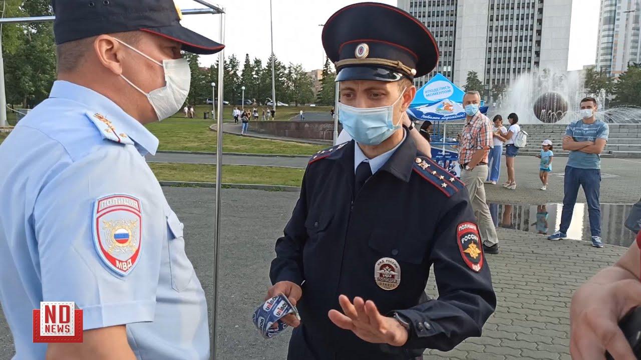 Полиция изымает имущество у сборщиков подписей за выборы мэра
