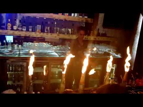 Thane Fire show Road House Club...Martin Garrix-Animals Song