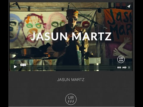 JASUN MARTZ art & music recorded LIVE in Bologna, Italy [TRAILER]