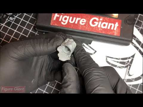 FIGURE GIANT - How to prepare head casts!!