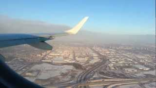 Air Canada Flight AC113 Take Off at Pearson International Airport Toronto (Over the clouds) HD