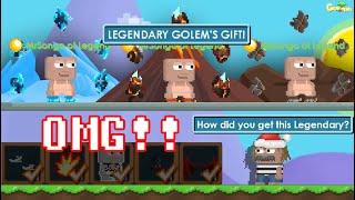 LEGENDARY GOLEM'S GIFT IOTM SET CHALLENGE!! (420DLS) OMG!! | GrowTopia