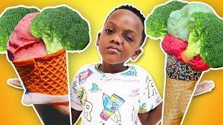Broccoli Song Skit Pretend Play