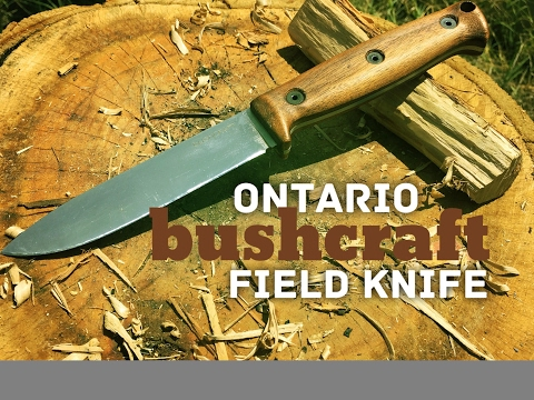 Ontario Bushcraft Field Knife Review - Its a grower, not a shower