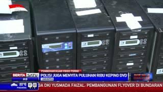 Polda Metro Jaya Bekuk Pembuat DVD Porno