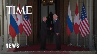 Biden and Putin Speak at Press Conferences Following Their Meeting in Geneva   TIME