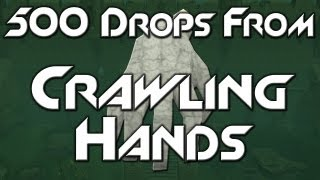 500 Drops From: Crawling Hands | Mask of Broken Fingers