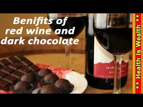 Benifit Of Red Wine And Dark Chocolate 1