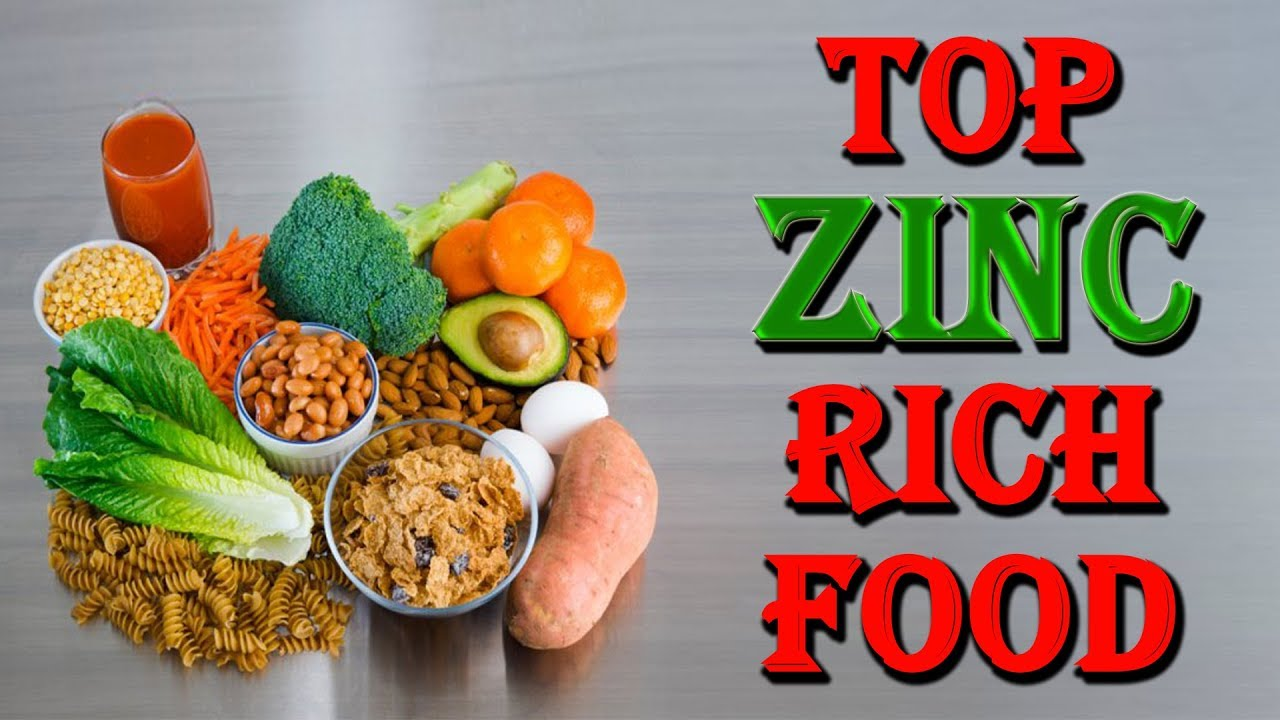 High Zinc Rich Foods Diet Plan In Hindi ह ई ज क य क त
