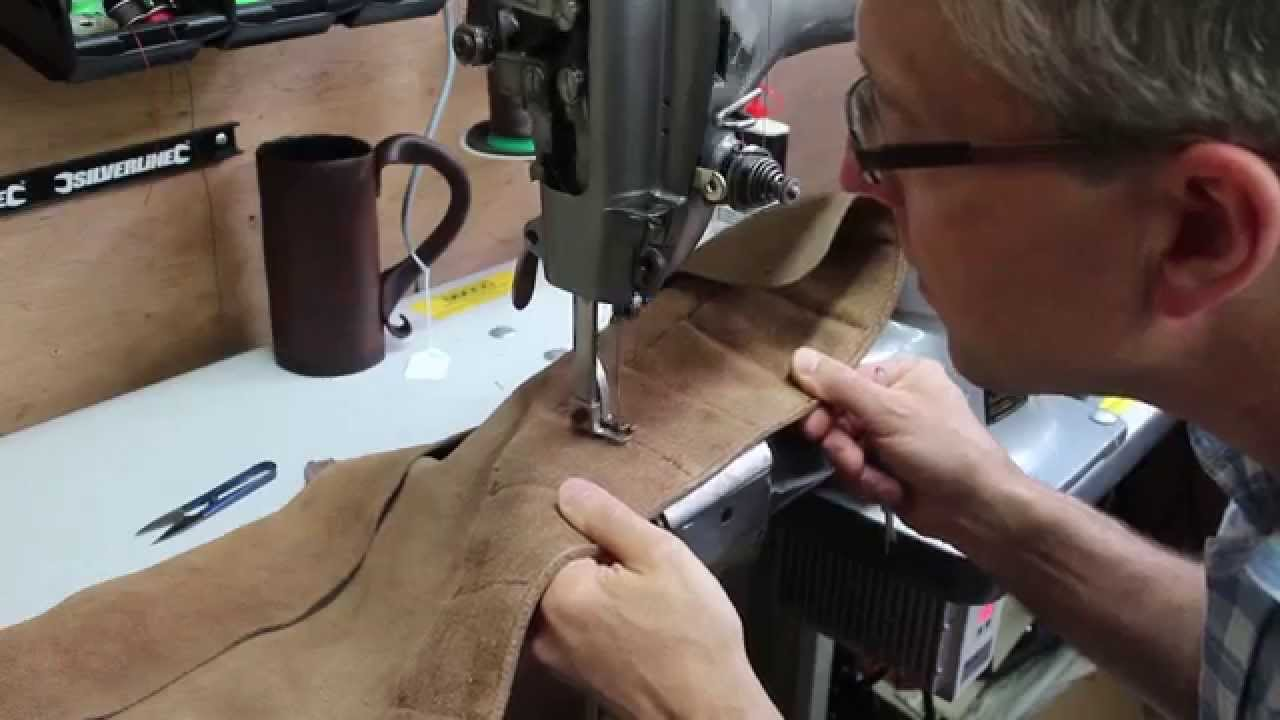 Tool Roll Repair Leather Sewing Machine Youtube