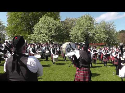 Bangor 2016 - Police Service of Northern Ireland Pipe Band - MSR