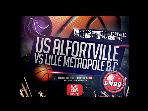 US Alfortville vs. Lille Métropole Basket