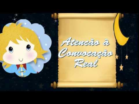 Convite Animado Pequeno Principe