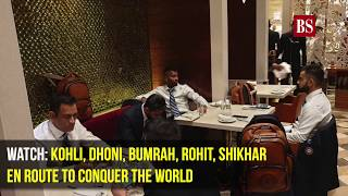 Cricket WC 2019: Kohli, Dhoni, Bumrah, Rohit, Shikhar en route to conquer the world