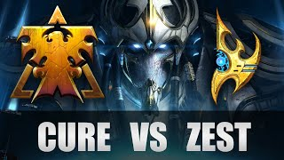 Cure vs Zest GRAND FINALS [TvP] Starcraft 2 GBL Season 3