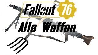 Fallout 76 - Alle Waffen die wir bis jetzt kennen