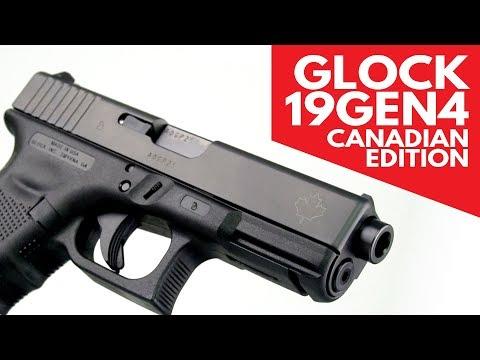 Glock 19 Gen 4 Canadian Edition - 9mm, 4 17