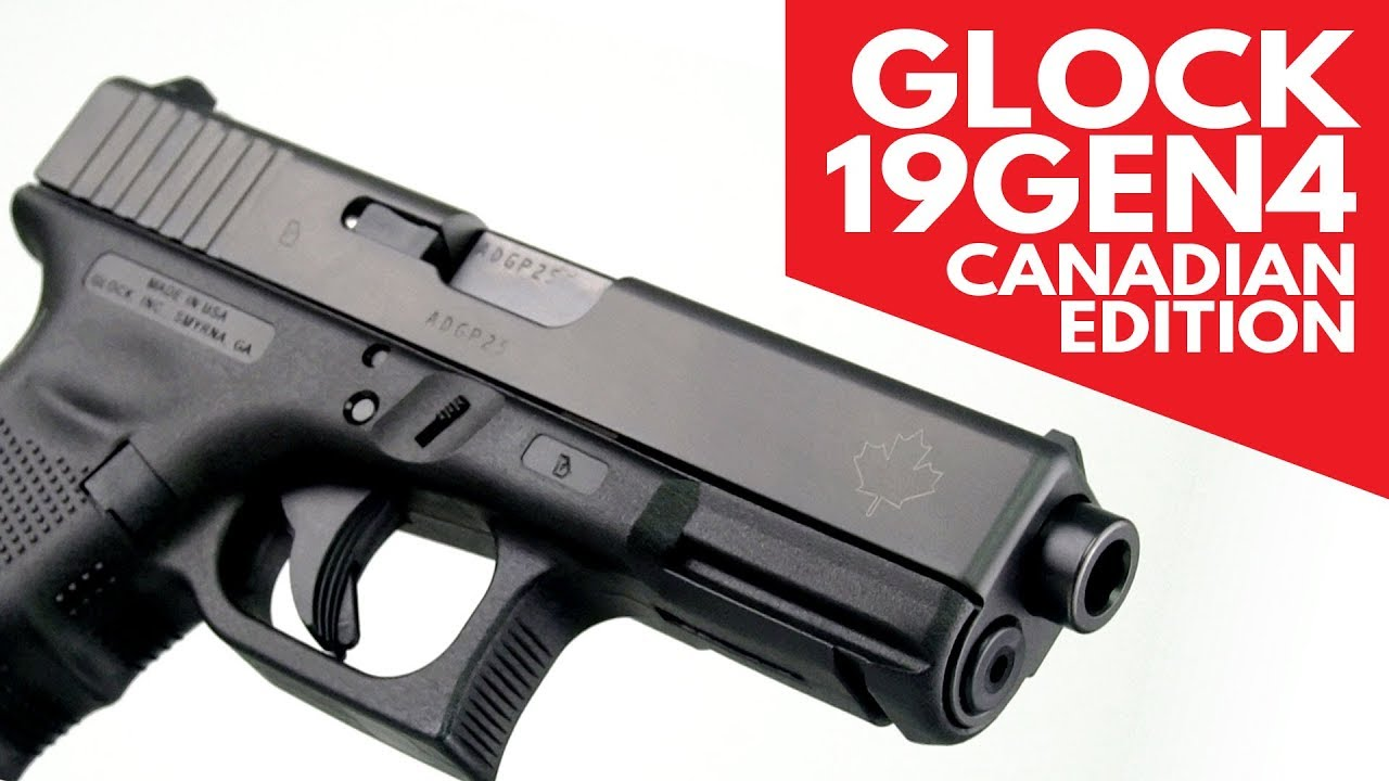Glock 19 Gen 4 Canadian Edition - 9mm, 4 17