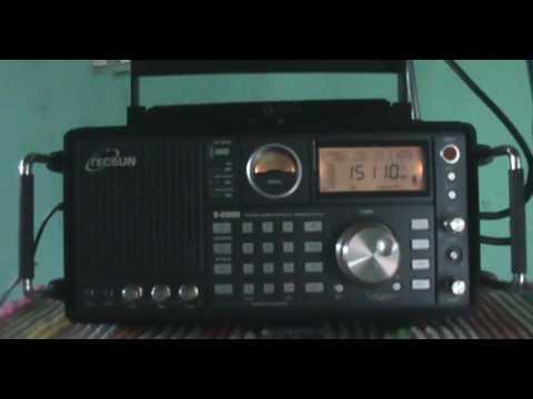 15110 kHz China Radio International (CRI) in Esperanto , Urumqi | China (Shortwave 19 meters Band)