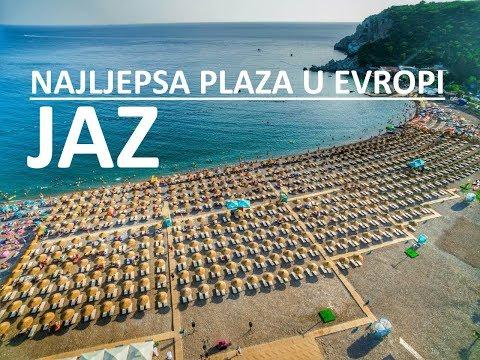 Najljepsa Plaza u Evropi JAZ Crna Gora The Most Beautiful Beach in Europe