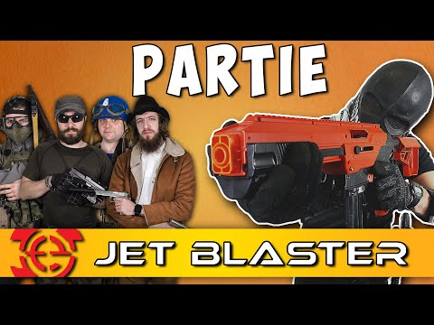 BATTLE ROYALE D'AIRSOFTEURS AU JET BLASTER - IN GAME !