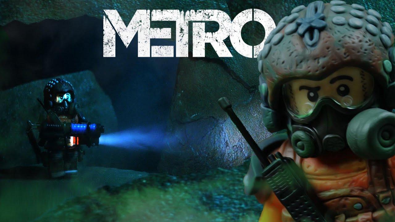 Как сделать кастомную фигурку Артема из игры METRO 2033 (с подсветкой)