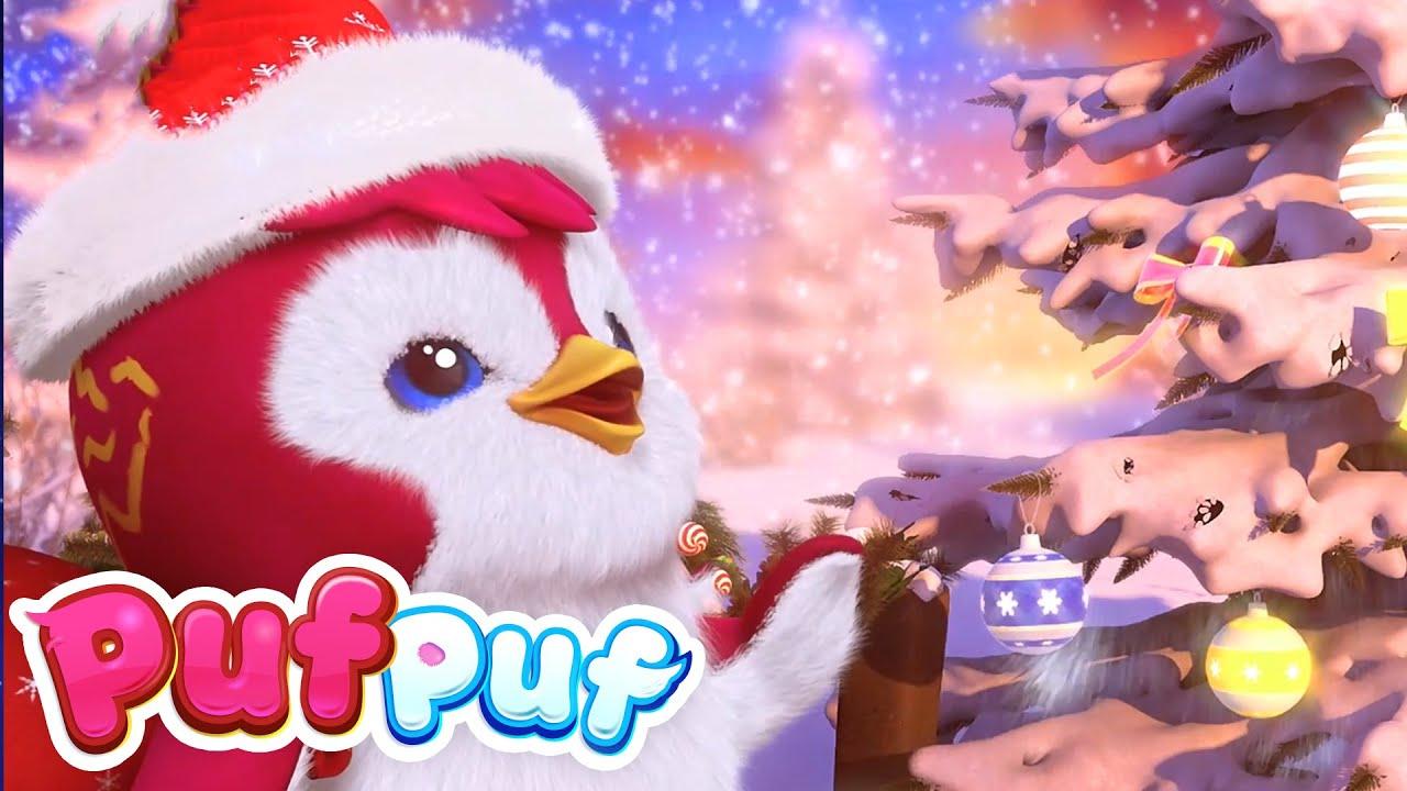 Vin sărbătorile! ?Cele mai frumoase cântece de Iarnă și de Crăciun pentru Copii Puf Puf