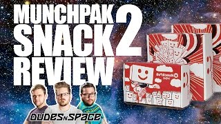 MunchPak is Back! -  Snack Box Subscription Review Take 2 - Dudes N Space
