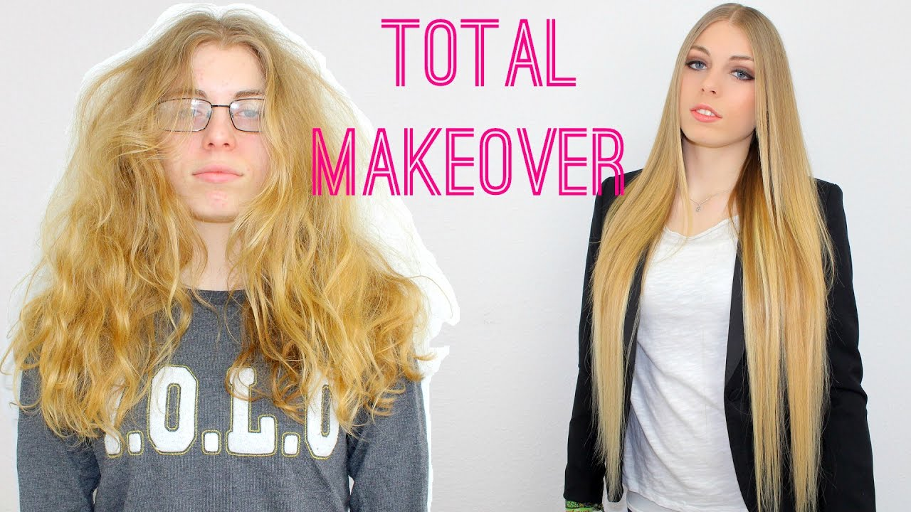total makeover transformation before + after feat. vanity planet vibrating flat iron