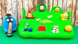 Teletubbies Pop Up Toy  किशोरी, खिलौना, कार्टून