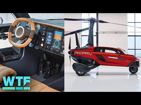 First Flying Car You Can Buy Lands In The US