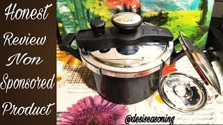 An Honest Review of Prestige Clip On Pressure Cooker/Non Sponsored Video