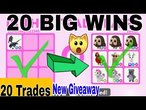 20 ACCEPTED TRADES IN ADOPT ME TRADING