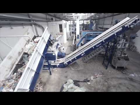 Post Consumer Film Recycling by LINDNER WASHTECH