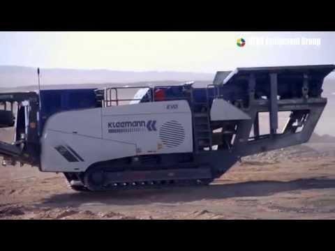 HERA Equipment Group- KLEEMANN Crusher in Mongolia