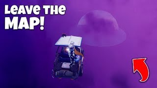 How to leave the Fortnite Map! (New Glitch!)