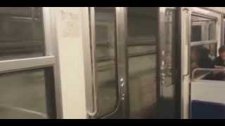 Поездка с ветерком в метро это нормально  Смотреть прикол
