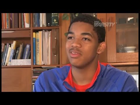 [Flashback] Karl-Anthony Towns High School Interview 2017-18 NBA Season Minnesota Timberwolves