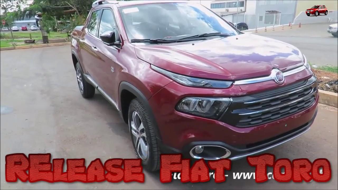Fiat Toro 2017 Usa Interior Angles Youtube