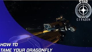 Star Citizen: How to tame your dragonfly!