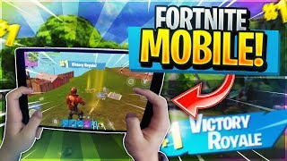 NEW FROSTWING GLIDER // Pro Fortnite Mobile Player// 690+ Wins // Fortnite Mobile Gameplay