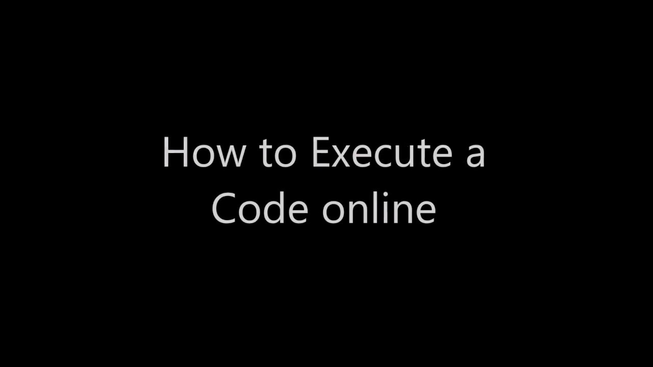 Compile and Execute C/C++ Code
