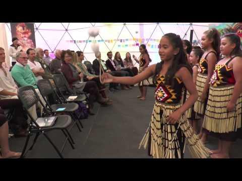 Naenae Primary School Maori Kapa Haka Group ~ New Frontiers