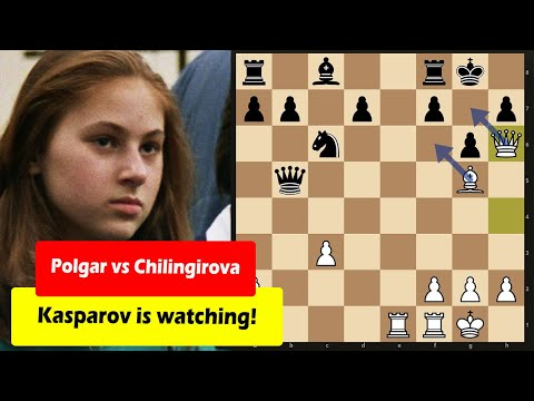 Absolutely Insane Sacrifice By A 12 Year Old Judit Polgar