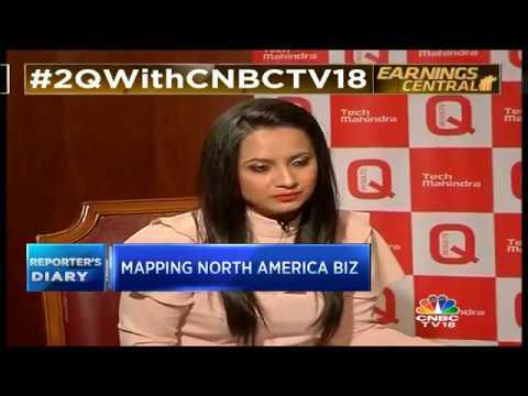 Tech Mahindra's Profit | Beats Street Estimates | CNBC TV18