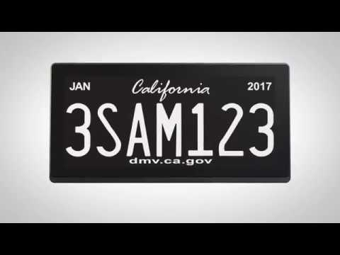 Digital license plates finally hit the road in California